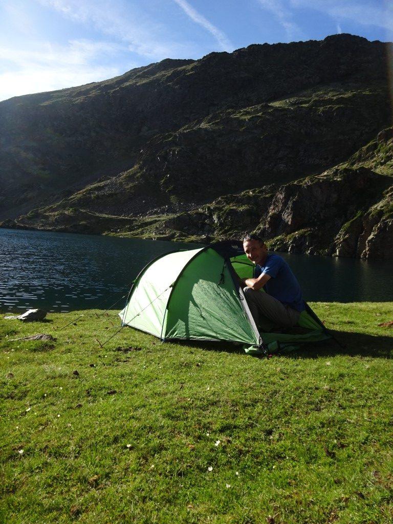 Idilic camp spot