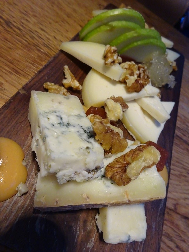 Cheese and quince