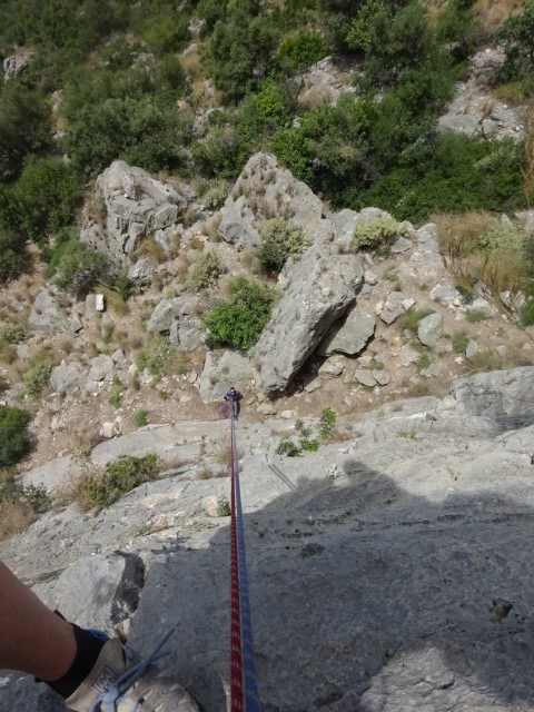 climbing Leonideo