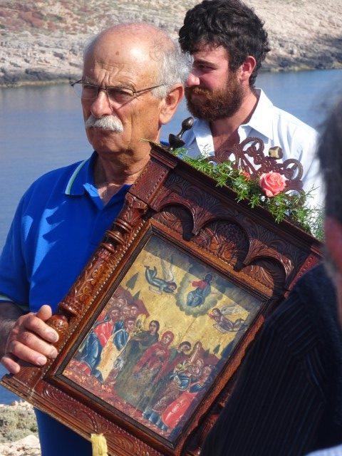 Religious festival Milos