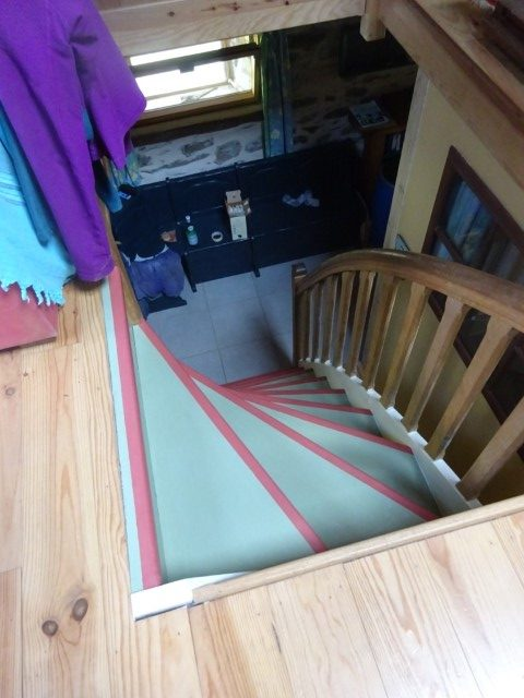 Stair painting