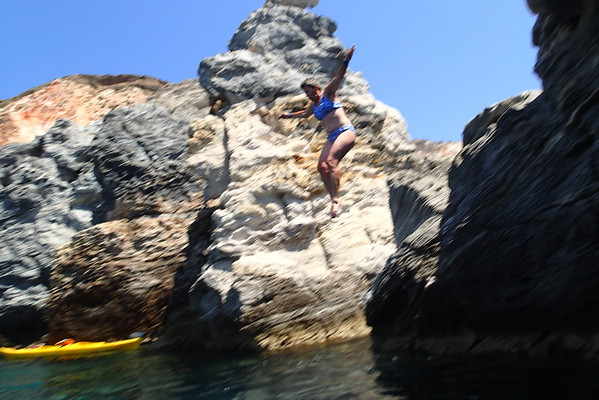 Sea kayaking Milos
