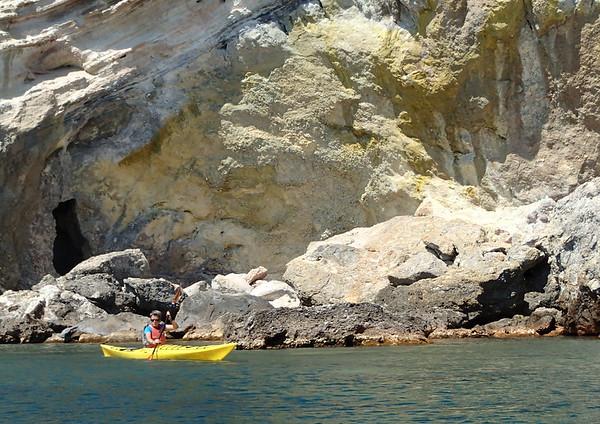 Sea kayaking Milos