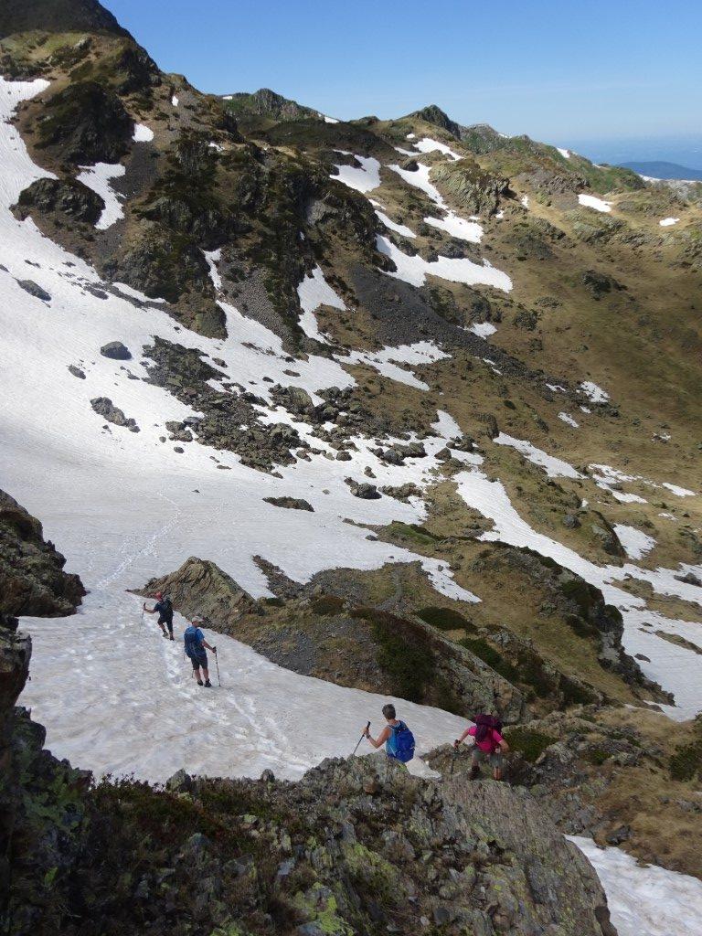 Descending from Col de Crouzette