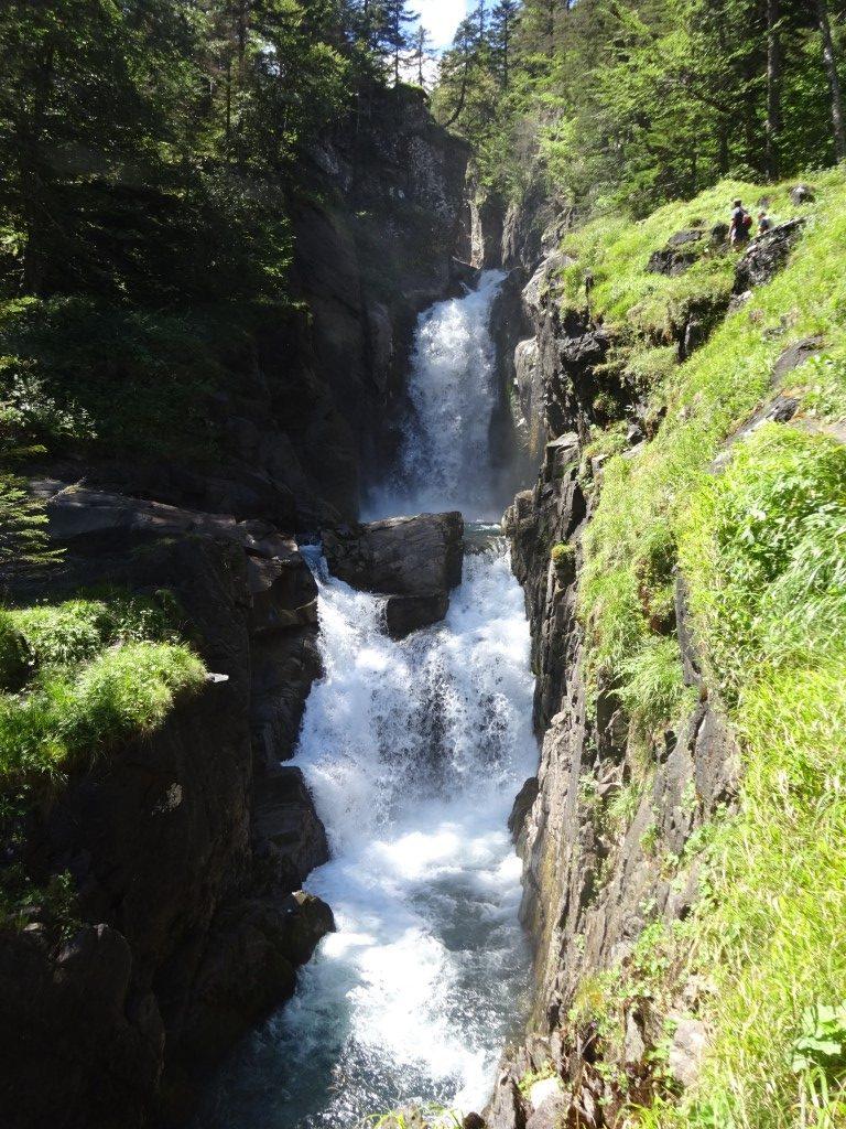 On the walk up Sentier des Cascades