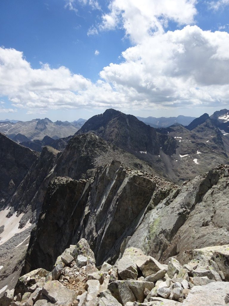 The ridge to Pic de Cambales