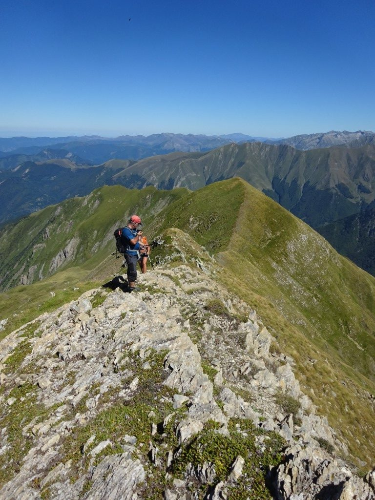 The ridge to Montaud summit