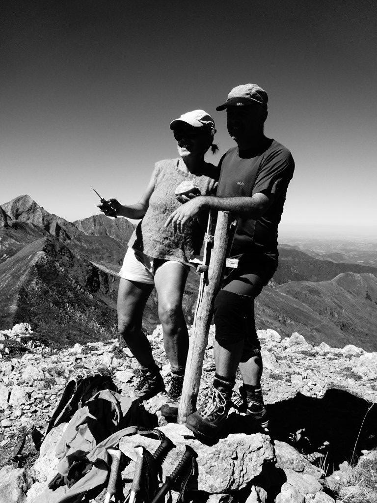 Montaud summit with Lee And Suzie