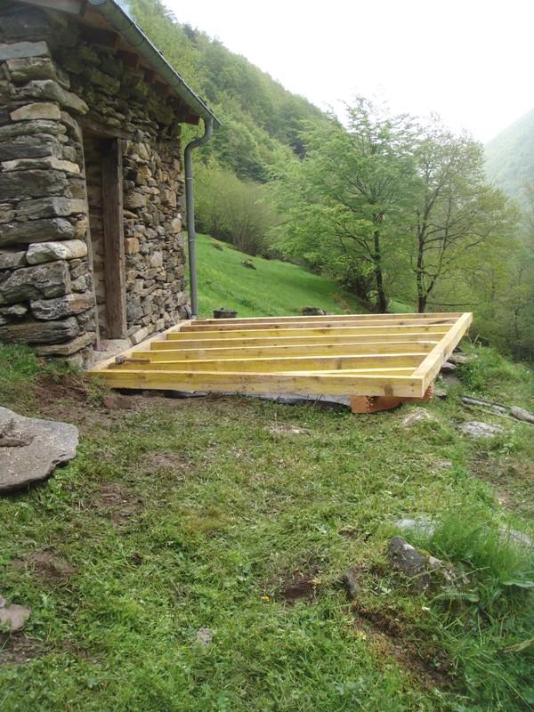 Terrace frame